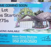 Robin Goins Stickney Sign