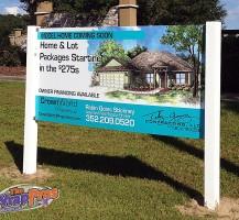 Crown World Properties Sign