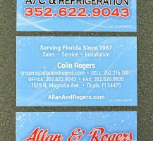 Allan & Rogers Business Cards