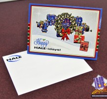 HALE Holiday Card and Envelope