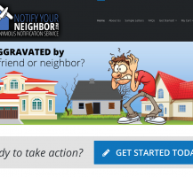 Notify Your Neighbor Website