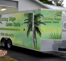 Cutting Edge Lawn Care Trailer