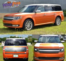 Ford Flex Color Change & Stripes
