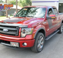 Red F150 Stripes