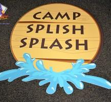 MBC Camp Splish Splash PVC Cutout sign