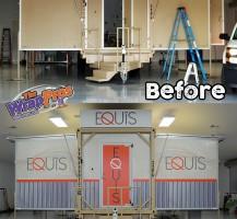 Equis Portable Building Exterior Wrap