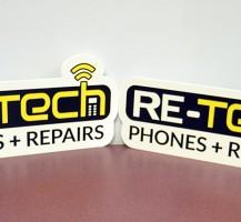 Re-Tech PVC Cutouts