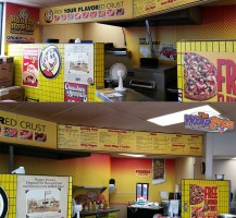 Hungry Howie's – Lady Lake Interior Graphics