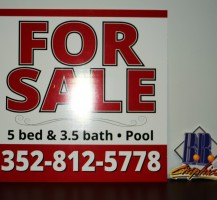 For Sale Coro Sign