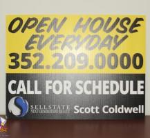 Scott Coldwell Printed Coro Yard Signs