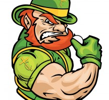 TCHS Leprechaun Golf Logo