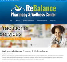 Rebalance Pharmacy Website