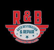 R & B Auto Restoration & Repair Logo Design