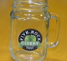 Five Rock Cidery Mason Jars