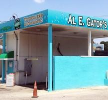 Al E. Gators Car Wash Wrap