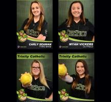 TCHS Softball Senior Banners