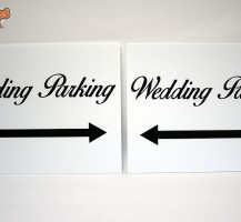 Party Time Rentals Wedding Signs