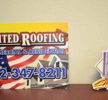 United Roofing Signs