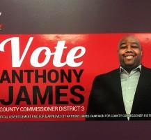 Anthony James Vote Magnets