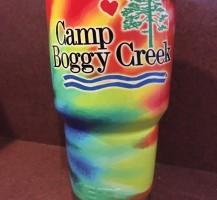 Camp Boggy Creek Yeti Wrap