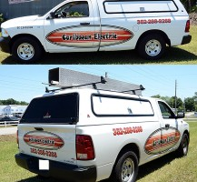 Caribbean Electric Truck Graphics