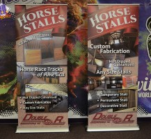 Double R Manufacturing Retractable Banners