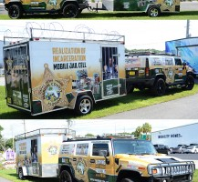 Marion County Sheriff Hummer and Trailer
