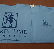 Party Time Rentals T-shirts