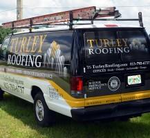 Turley Roofing Van