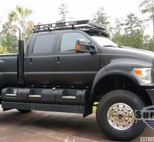 Matte Black Super Truck