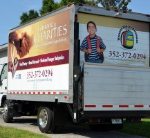 Catholic Charities Box Truck