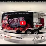 Sonny's BBQ Random Acts of BBQ Trailer Wrap Time Lapse