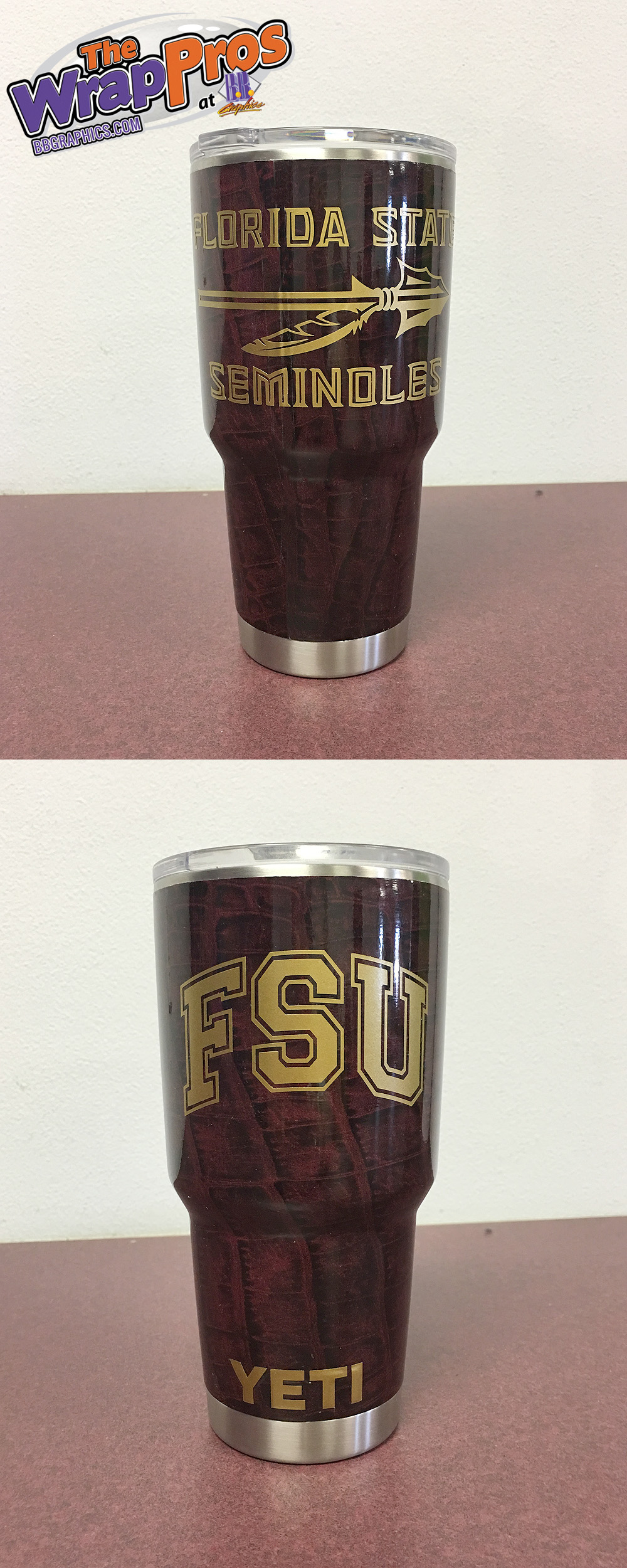 Fsu Yeti Bb Graphics Amp The Wrap Pros
