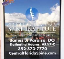 CF Spine Institute Door