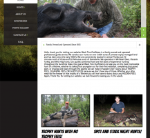 Black Tine Outfitters Website
