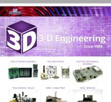3D Engineering Website