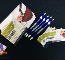 Northeast Georgia Health Systems Pens – Business Cards – Rack Cards