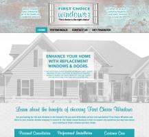 First Choice Windows Website