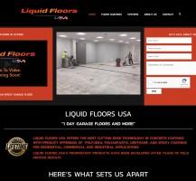 Liquid Floors Website