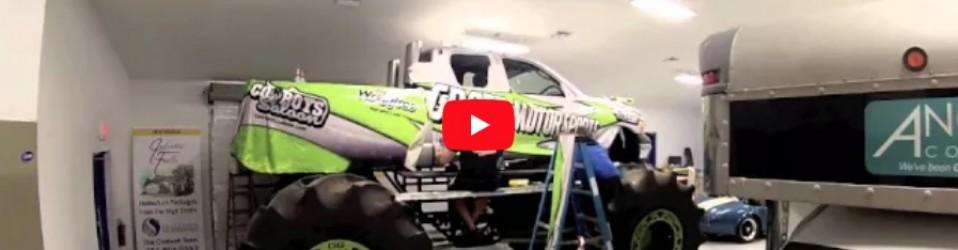 Groeb Motor Sports Monster Truck Wrap Time Lapse