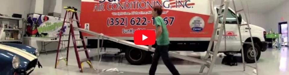 Sun Kool Air Conditioner Full Wrap Time Lapse