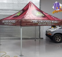 5 Rock Cider Tent