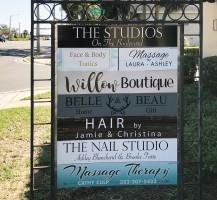 Studios on the Blvd Signage