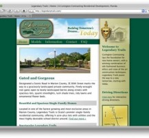Legendary Trails Website