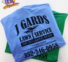 J Gards Lawn Care T-Shirts