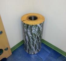 Munroe Regional's Children's ED Trash Can