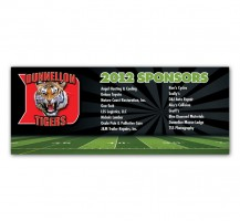 Dunnellon Tigers Banner/Sign