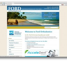 Ford Orthodontics Website Redesign