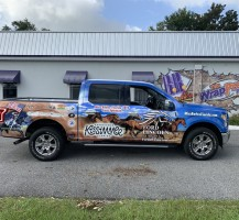 Ford Lincoln of Ocala Vehicle Wrap