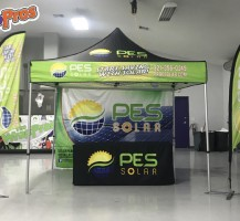 PES Solar Tent Package